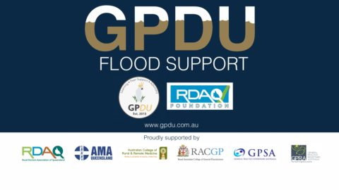 GPDU offering flood support for north Qld GPs